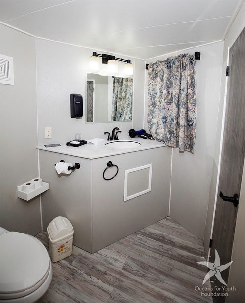 All rooms include a bathroom with a shower and air-conditioning.