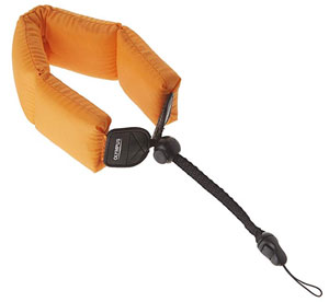 Get a float strap for your waterproof snorkel camera.