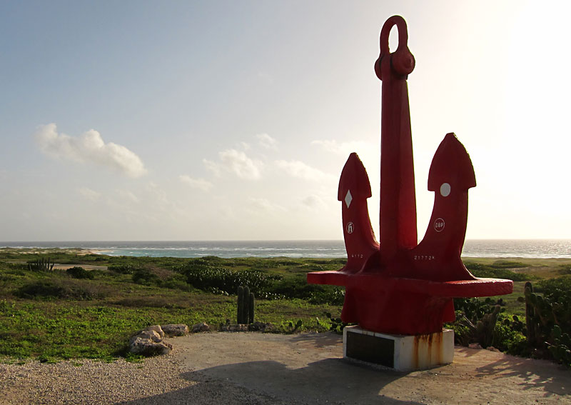 Big Red Anchor - Aruba