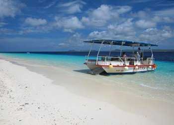 The Water Taxi Makes Access To Snorkeling Klein Bonaire Easy