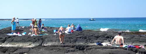 Snorkeling Two Steps Lava Beach