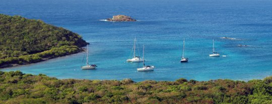 Nice view of snorkeling Salt Pond Bay