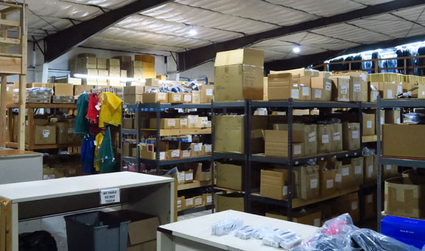 The Dolphin warehouse, where your order will be shipped from.