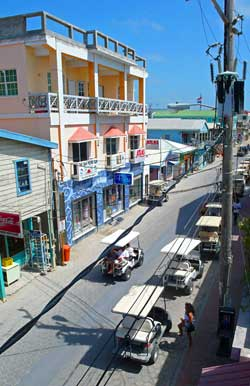Downtown San Pedro - Ambergris Caye