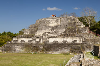 Consider an optional extension to your Belize trip and visit some of the country's Mayan ruins.