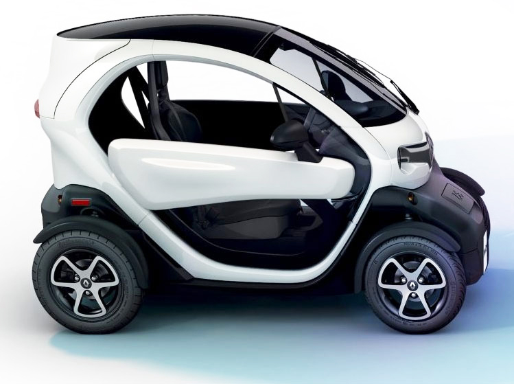 The new transportation option in Bermuda, the Renault Twizy available to rent from one company.