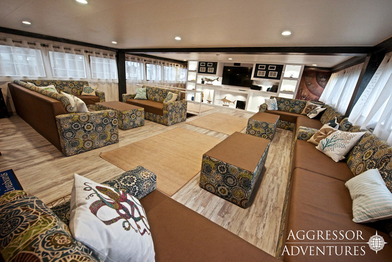 Comfortable and spacious lounge