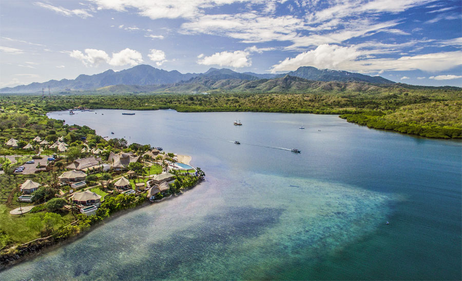 The Dynasty Menjangan is one of the resorts you will visit on this Bali & Komodo trip.