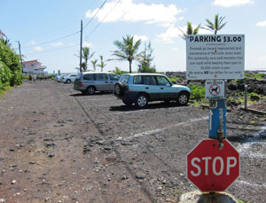 Parking Area for Snorkeling Kapoho Tide Pools