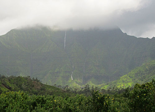Kauai Mountain Waterfalls