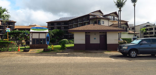 Lawai Beach Facilities