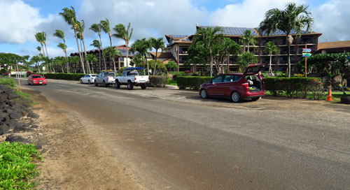 Lawai Beach Parking