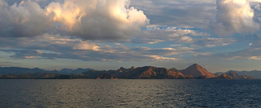 The picturesque islands of Komodo.