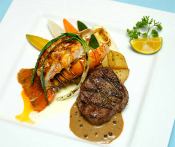 Excellent Food At Pacific Palau Resort