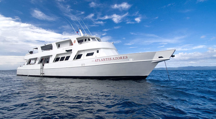 The Atlantis Azores will be your liveaboard home for this Philippines snorkeling trip.