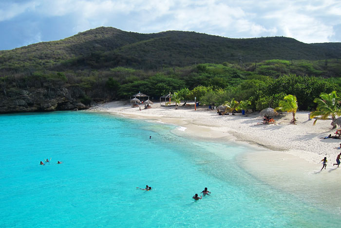 One Of Curacao's Stunning Beaches