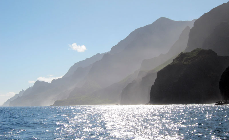 Beautiful Na Pali Coast of Kauai