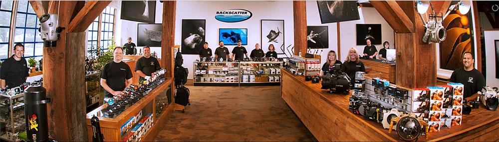 Backscatter, the best store for buying snorkeling camera equipment.