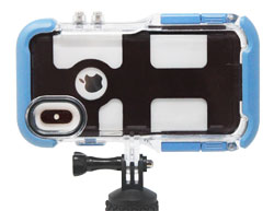 The ProShot waterproof case allows you to use your iPhone camera underwater.