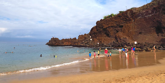 Black Rock On Ka Anapali Beach