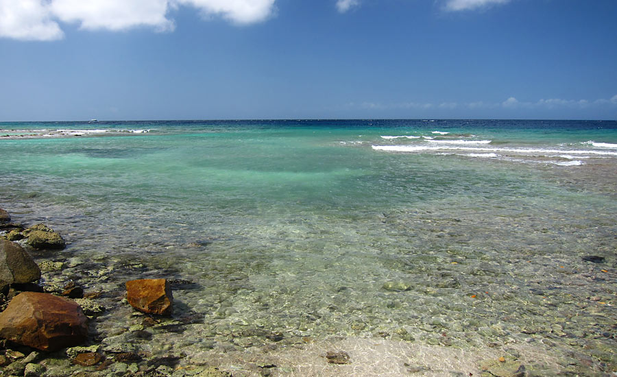 The Water Entrance For Snorkeling Puerto Chiquito