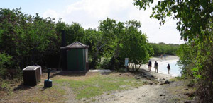 Facilities at Salt Pond Bay