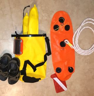 My set up for taking gear with me on a drift snorkel.