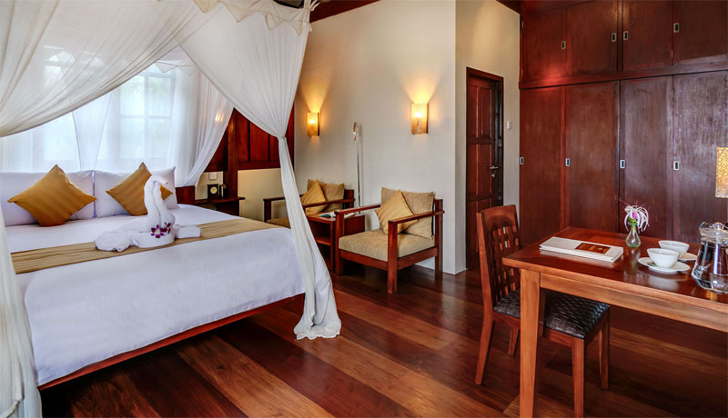 Your luxurious Wakatobi accommodation.