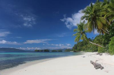 Yendebabo Beach on Gam Island, Raja Ampat