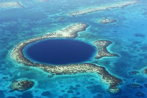 Snorkeling the Blue Hole - Belize