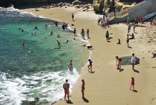 Go snorkeling in california really for Best beach near la