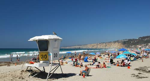 La Jolla Shores Beach Lifeguard