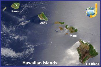 Snorkeling Hawaii Map