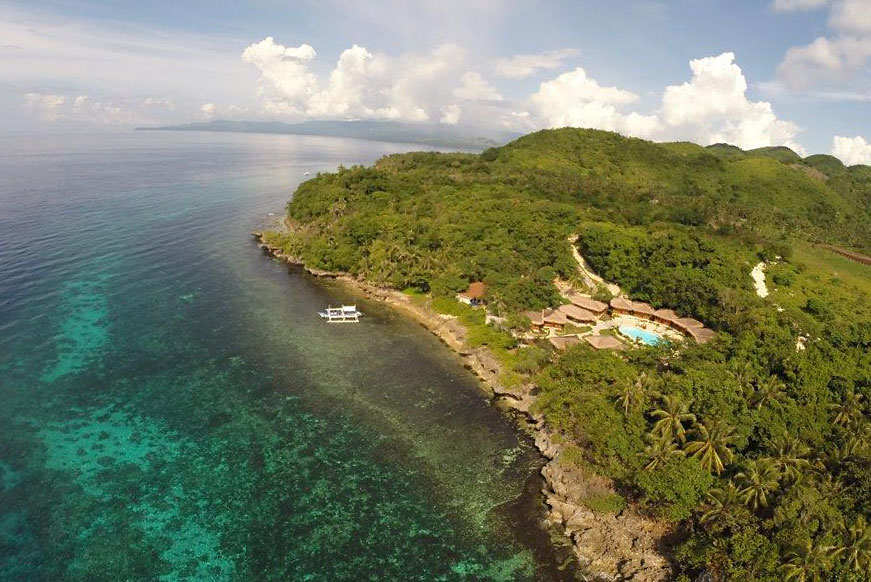 Magic Ocean Resort, the last stop on this Philippines snorkeling trip.
