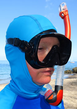 Snorkel Mask Fitting Instructions