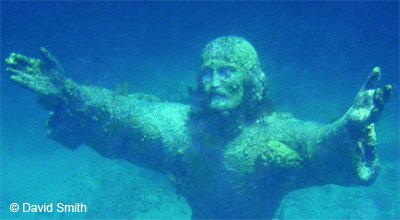 Snorkeling Christ Of The Abyss