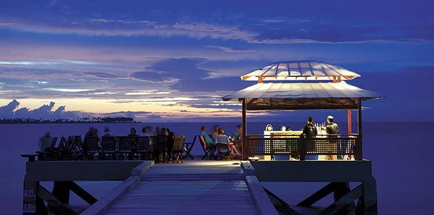 The Jetty Bar offers a wonderful spot to watch the sunset while sipping your favorite drink.