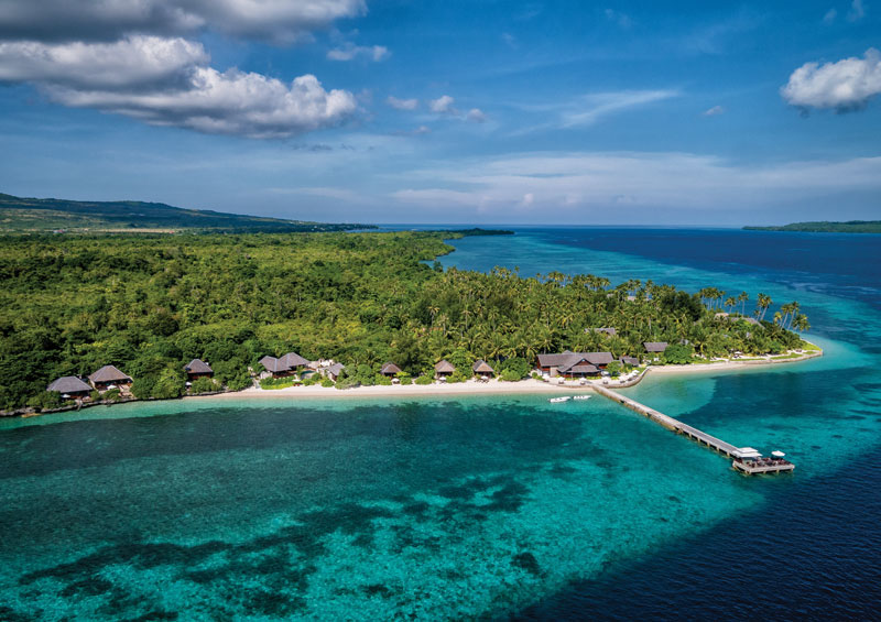 Wakatobi Resort, your home base for this outstanding snorkeling adventure.