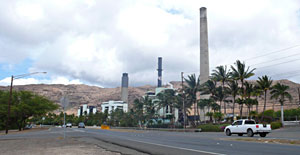 Electric Plant across the road from Kahe Point that makes the snorkeling interesting