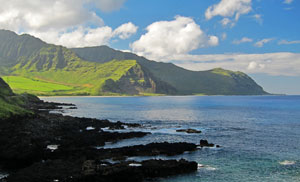 Beautiful Oahu Coastline